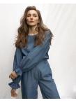 Блуза с рукавом на резинке by Schnaider